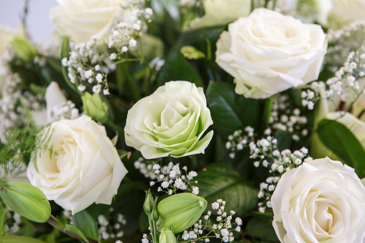 Joanna Paterova – kompozycje florystyczne, sala hotel Camelot